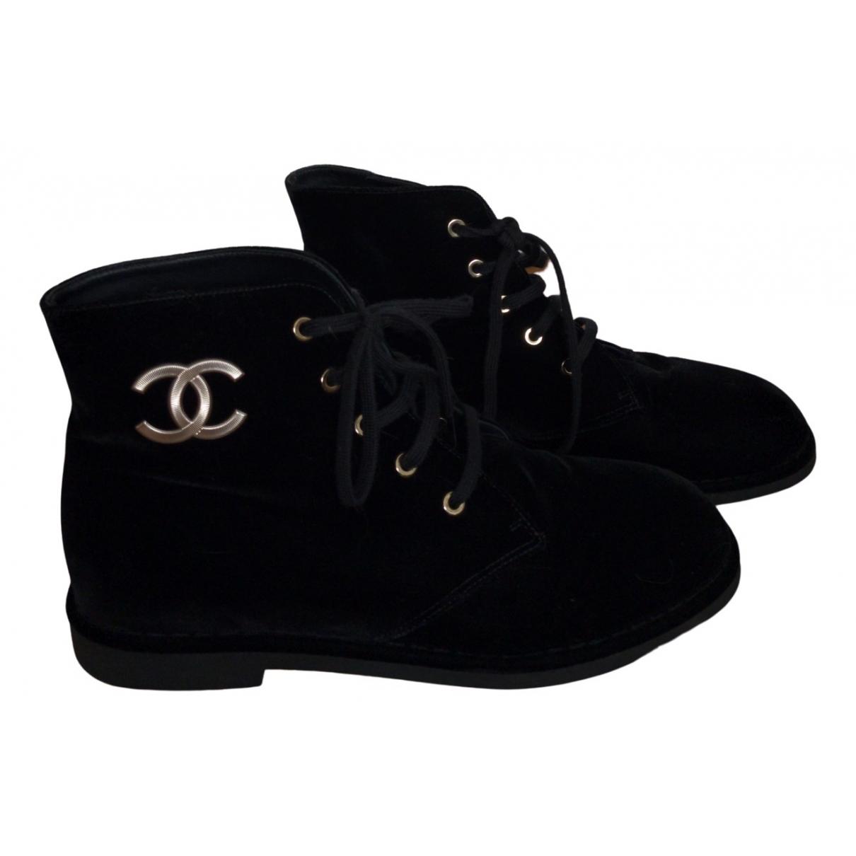 Botas  de Terciopelo Chanel