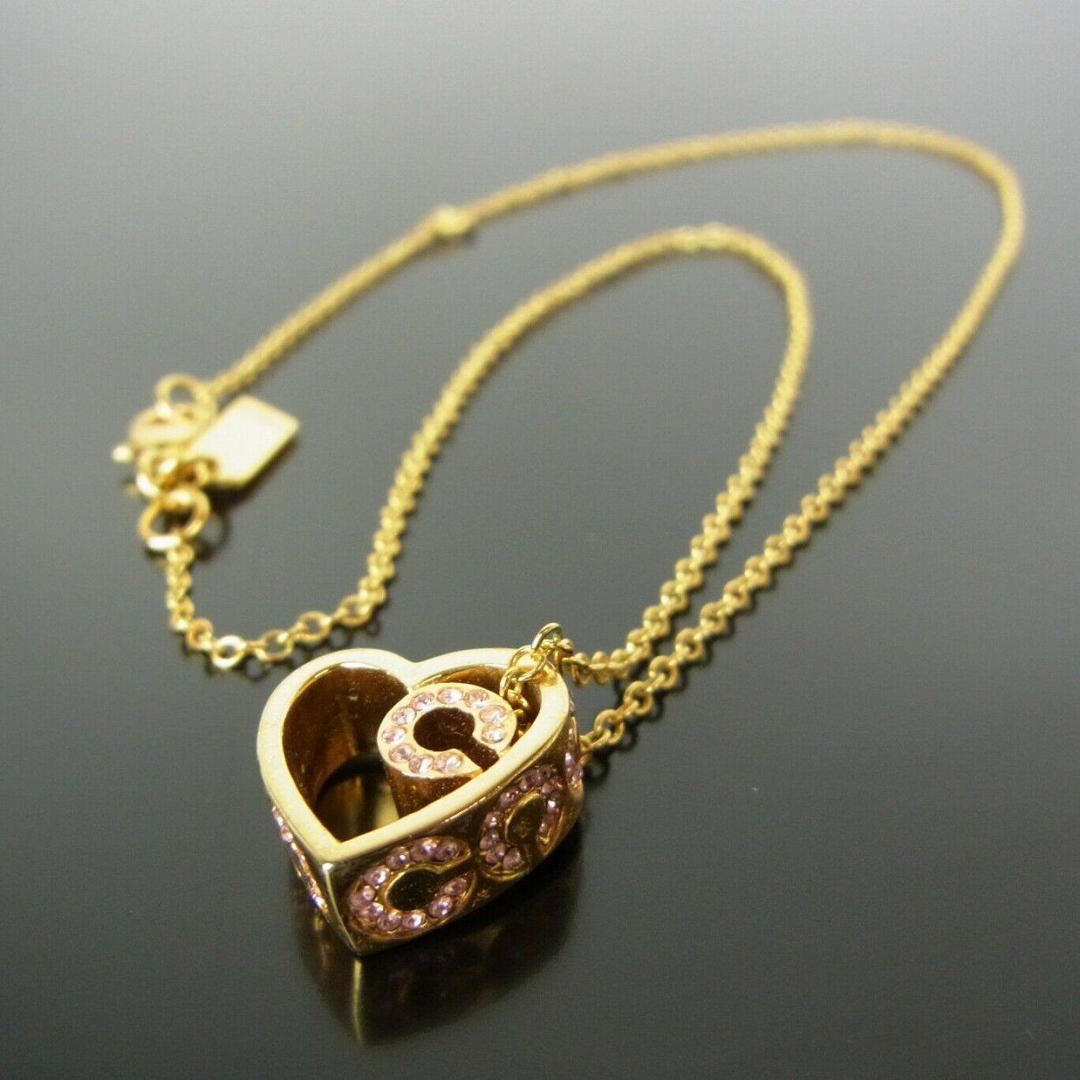 Coach \N Gold Gold plated necklace for Women \N