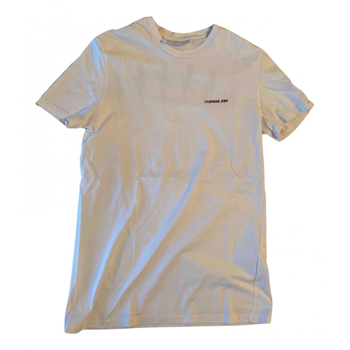 Neil Barrett N White Cotton T-shirts for Men S International