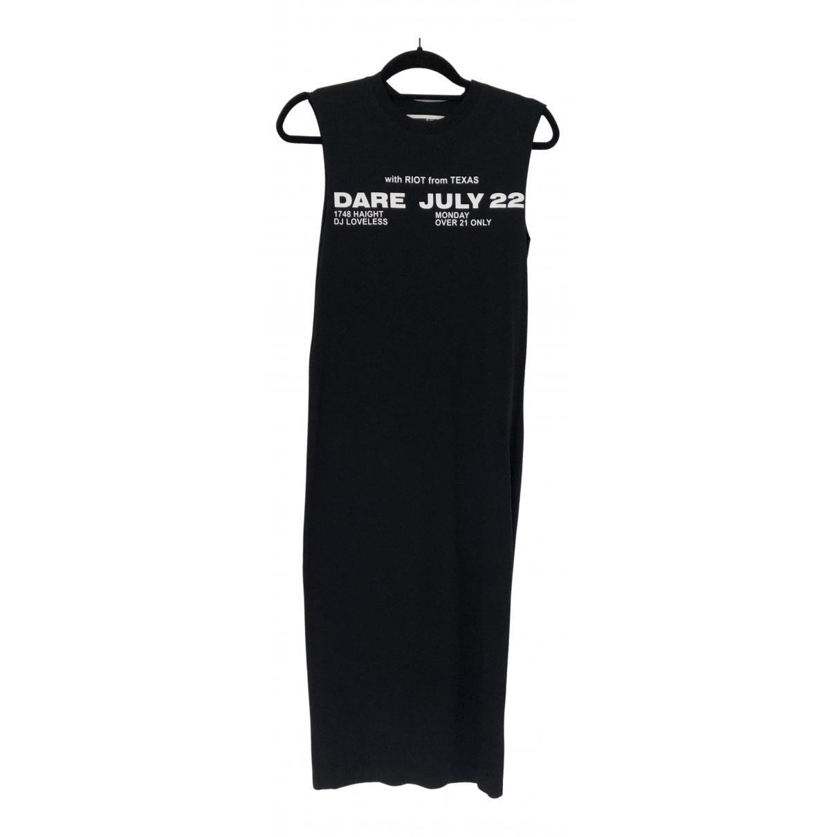 Mcq - Robe   pour femme en coton - noir