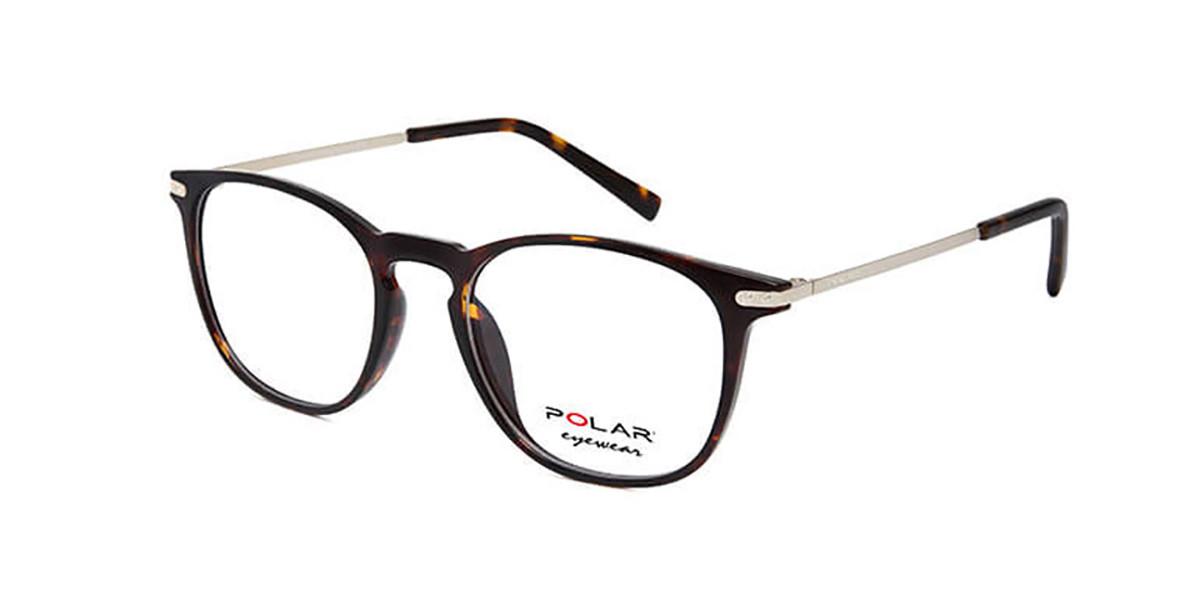 Polar PL 2005 428 Men's Glasses Tortoise Size 49 - Free Lenses - HSA/FSA Insurance - Blue Light Block Available