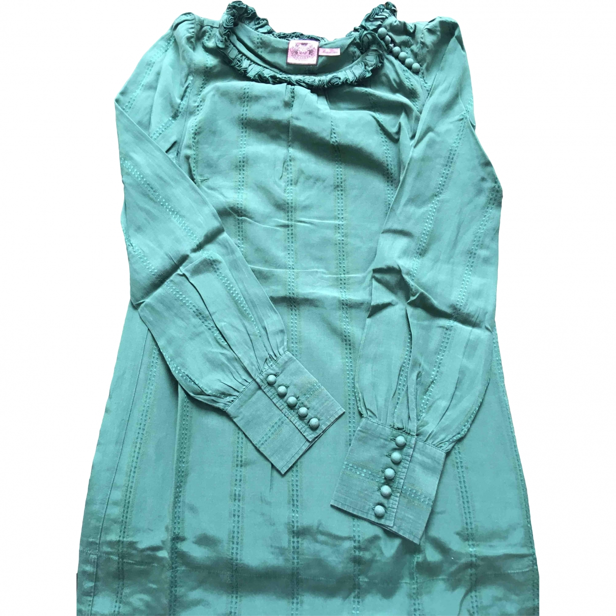 Juicy Couture \N Green Silk  top for Women 0 0-5