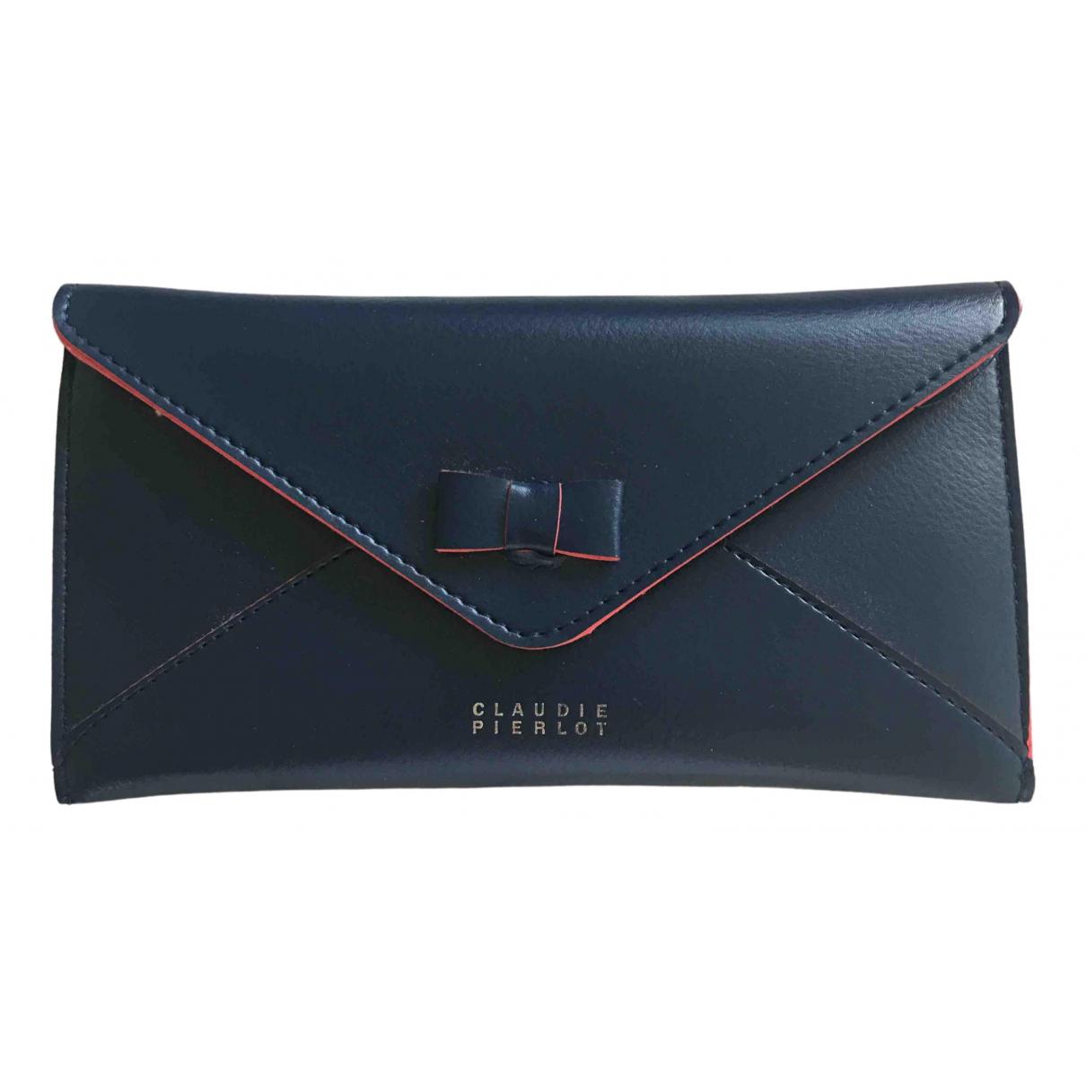 Claudie Pierlot \N Blue Purses, wallet & cases for Women \N