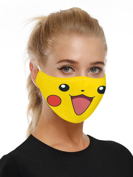 Milanoo Costume Accessories Covering Pokemon Print