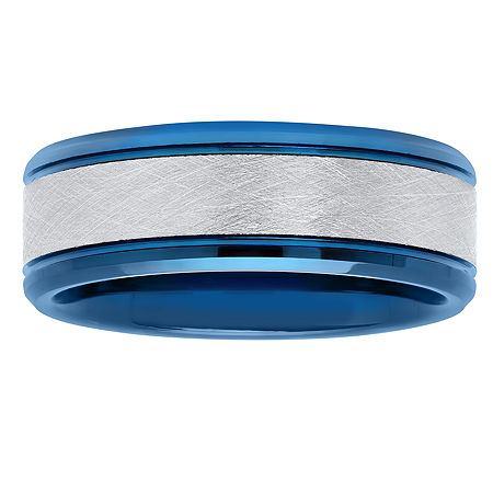 8MM Tungsten Wedding Band, 11 1/2 , No Color Family