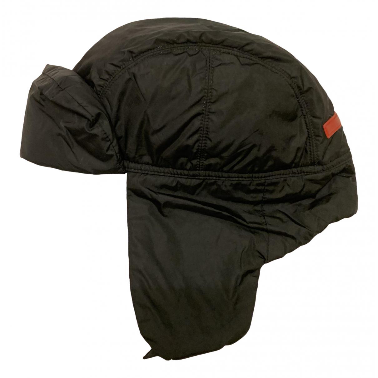 Prada \N Black hat & pull on hat for Men S International
