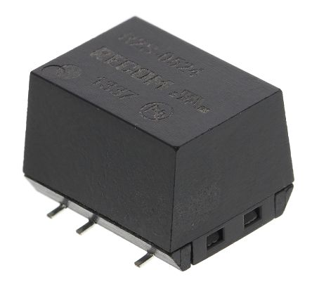 Recom R2S 2W Isolated DC-DC Converter Surface Mount, Voltage in 4.5 → 5.5 V dc, Voltage out 24V dc