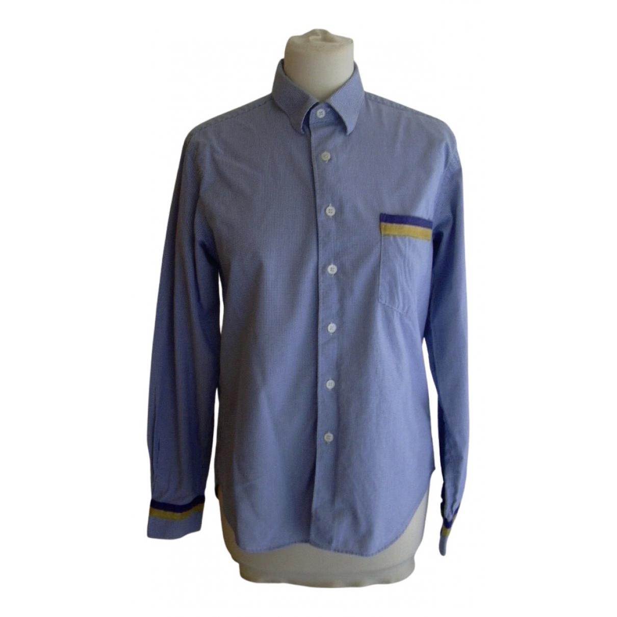 Comme Des Garcons - Chemises   pour homme en coton - bleu