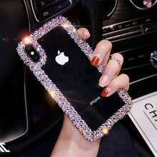 Rhinestone Clear iPhone Case