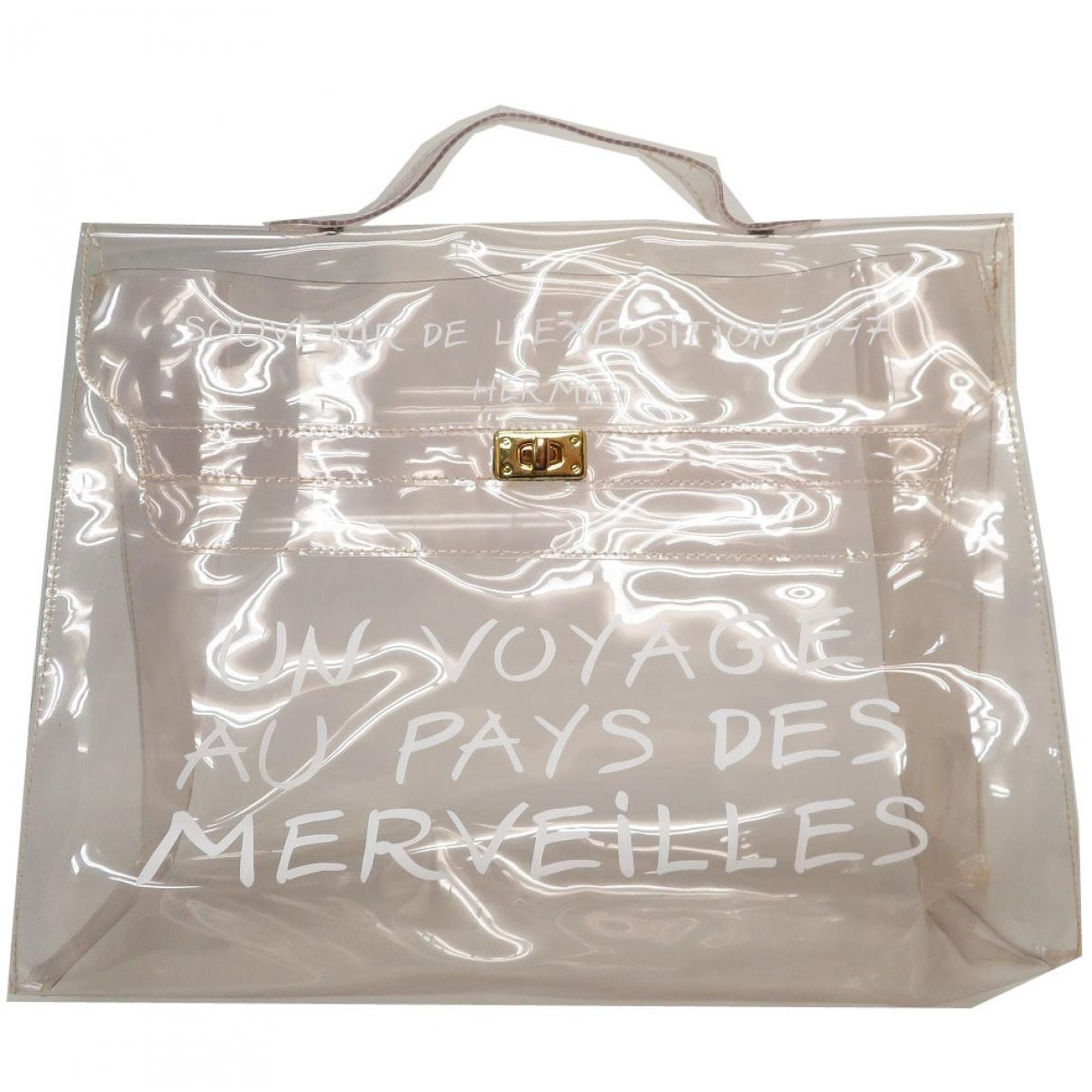 Hermès Kelly 40 White handbag for Women \N
