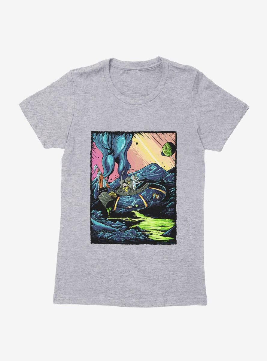 Rick and Morty Business As Usual Womens T-Shirt