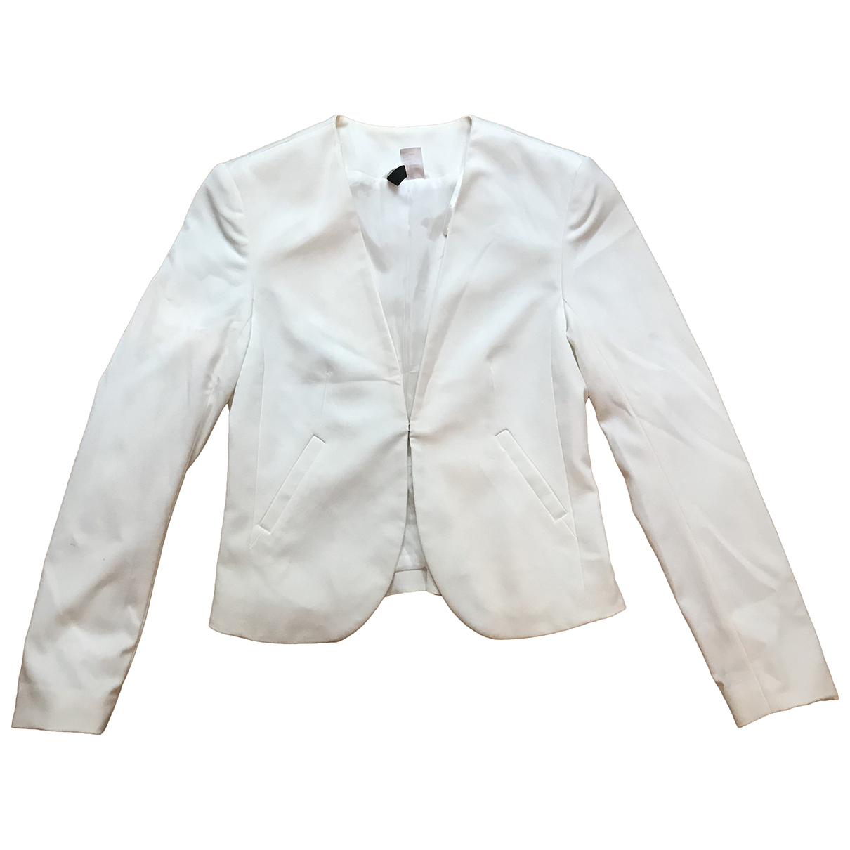 H&m Studio N White jacket for Women 4 US