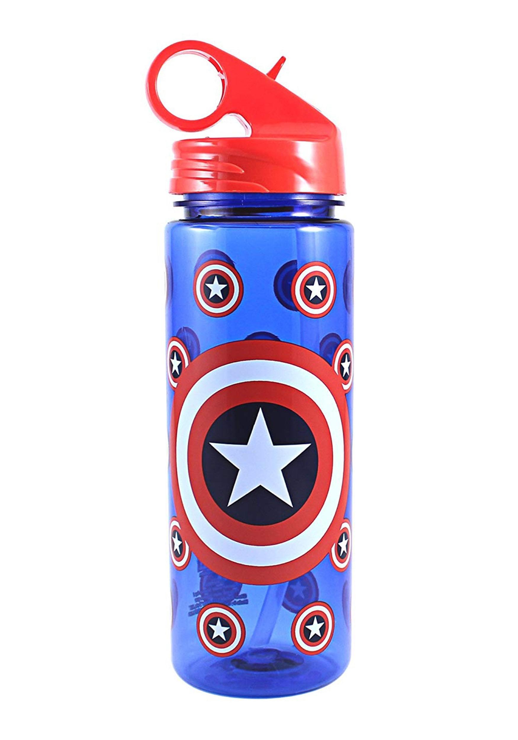 Captain America Tritan 20oz Water Bottle