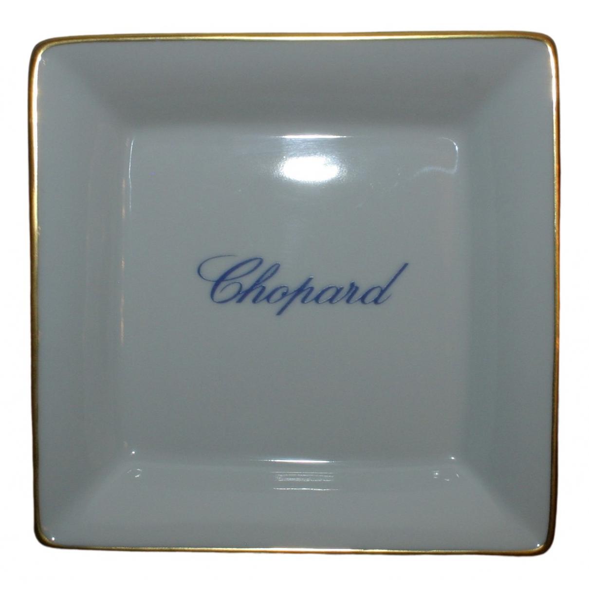 Chopard \N Accessoires und Dekoration in  Ecru Porzellan