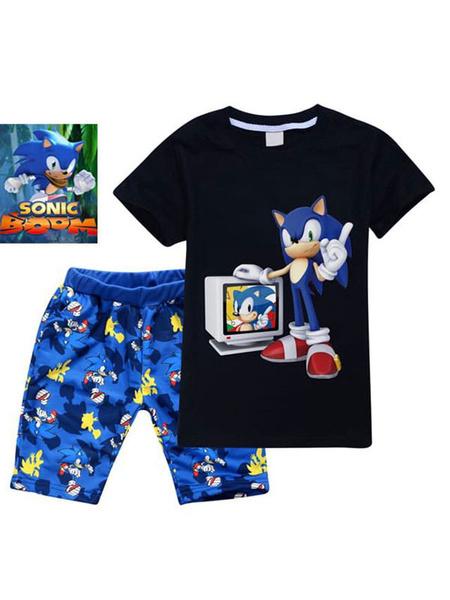 Milanoo Sonic The Hedgehog Traje de Halloween para niños