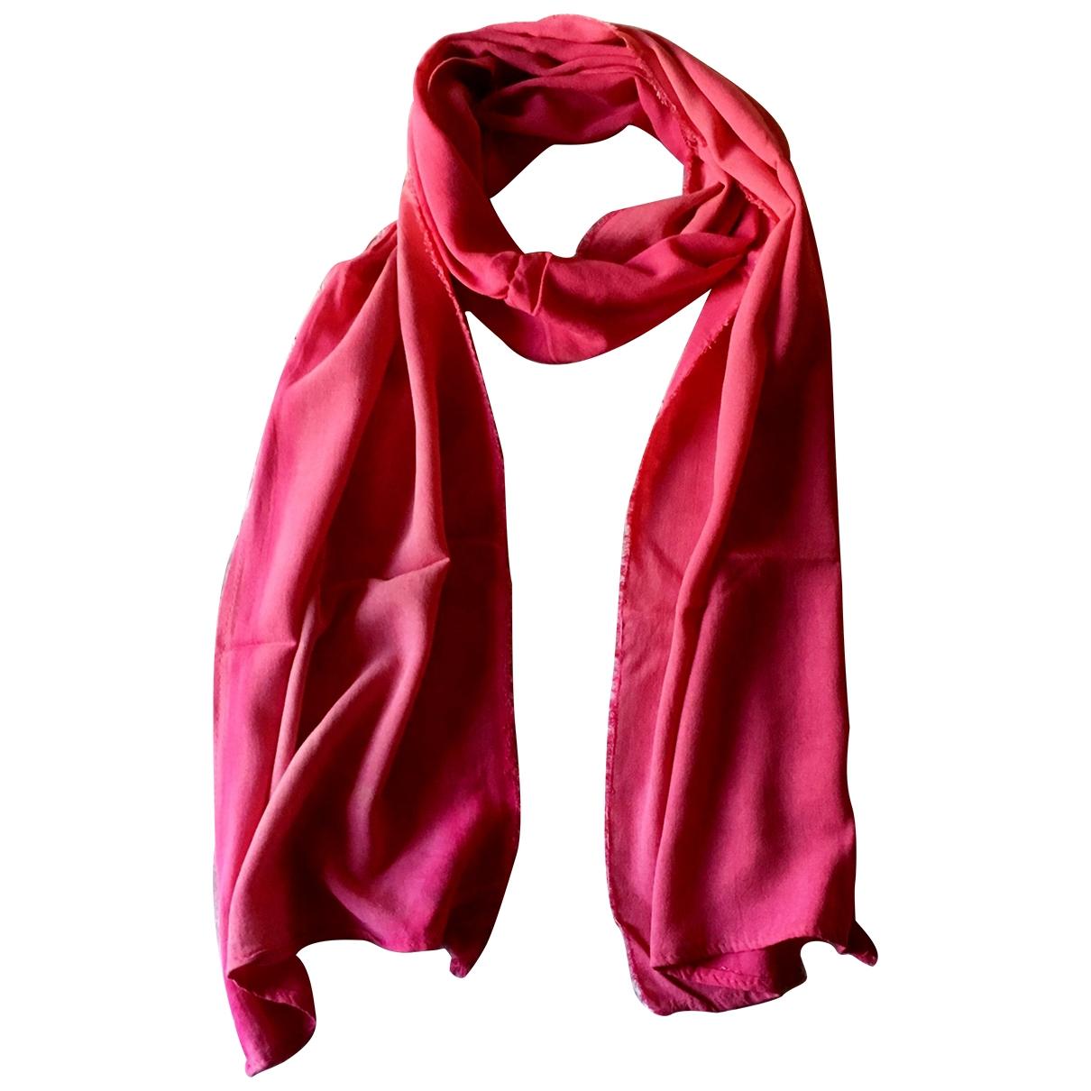 - Foulard   pour femme en coton - rose