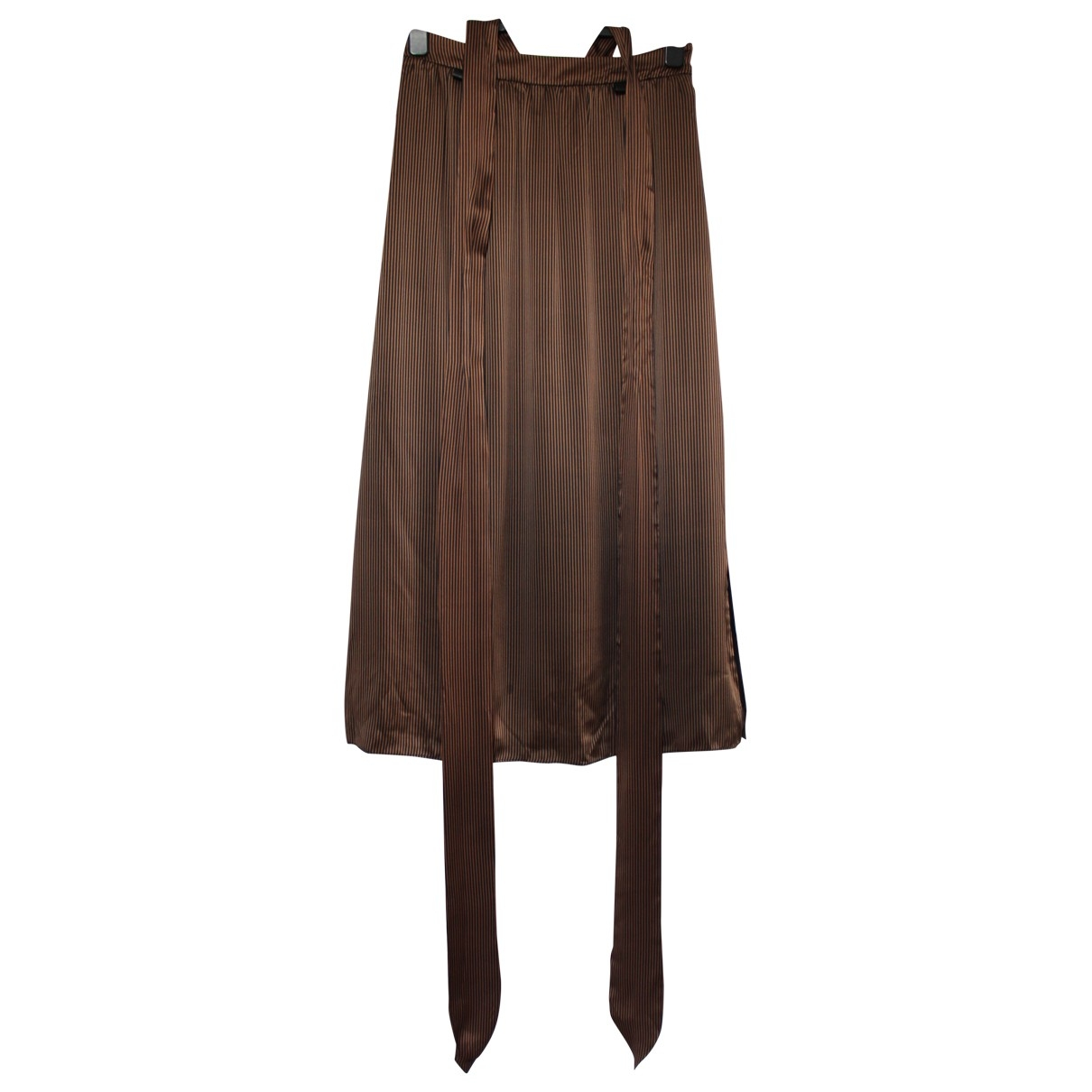 Nanushka \N Brown Silk skirt for Women M International