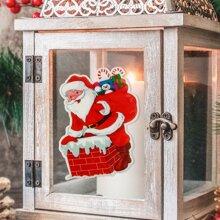 Santa Claus Pattern Window Sticker