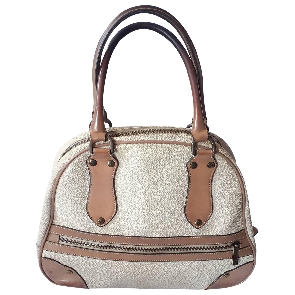 Mulberry \N Ecru Leather handbag for Women \N
