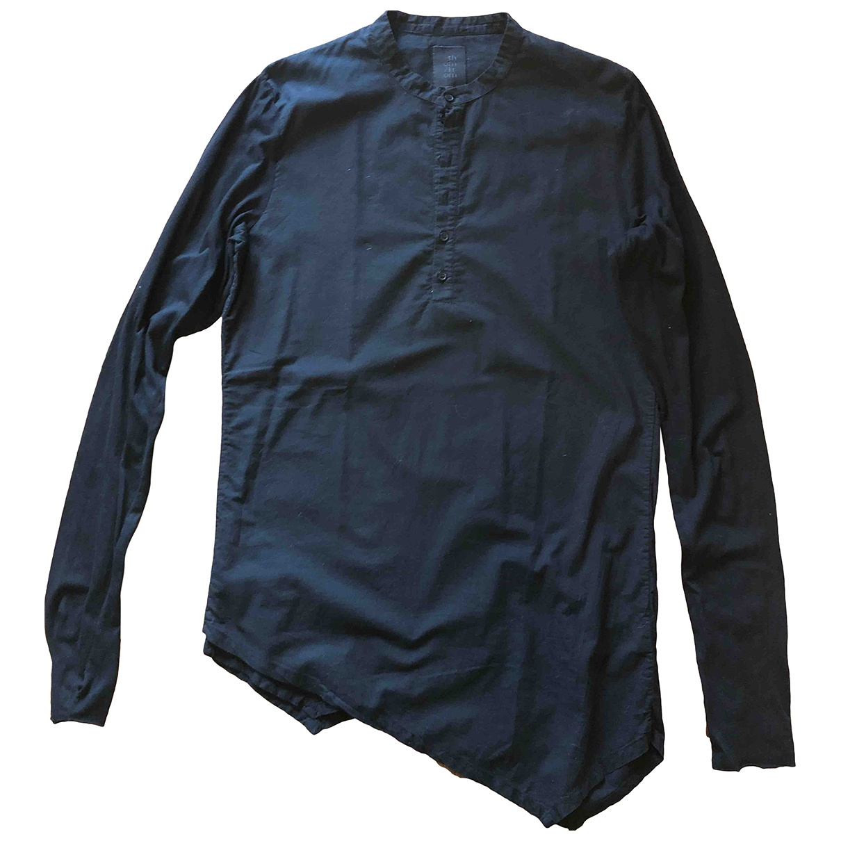 Thom Krom \N Black Cotton Shirts for Men L International