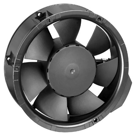 ebm-papst , 24 V dc, DC Axial Fan, 172 x 51mm, 410m³/h, 17W, IP20