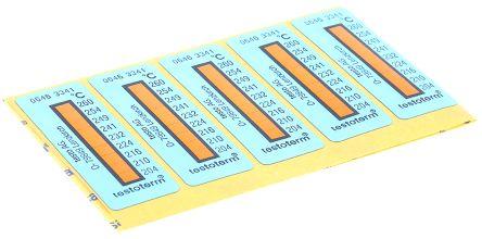 Testo Temperature Sensitive Label, 204°C to 260°C, 2 Levels (10)