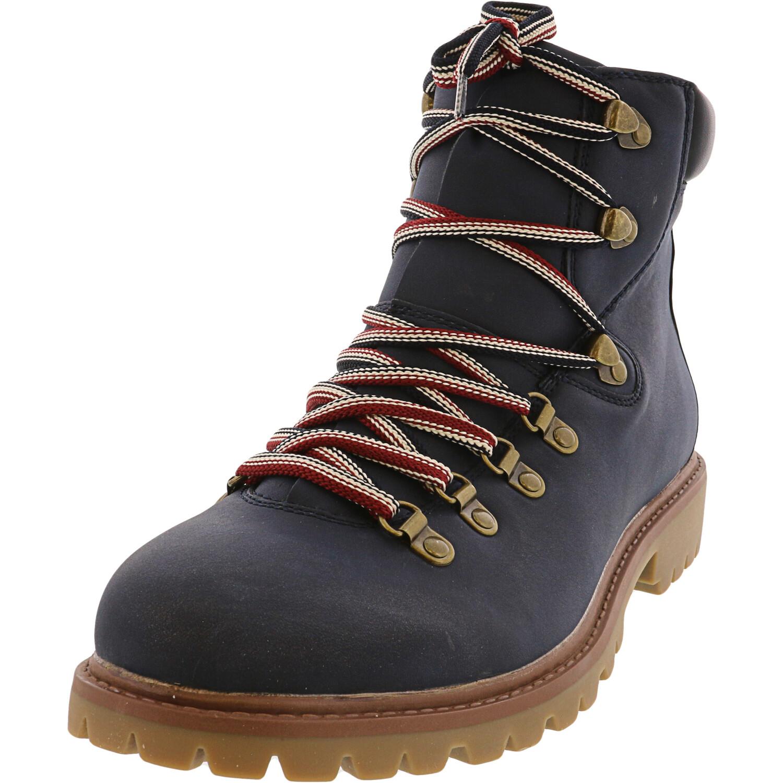 Tommy Hilfiger Men's Jeckel Dark Blue High-Top Boot - 11.5M