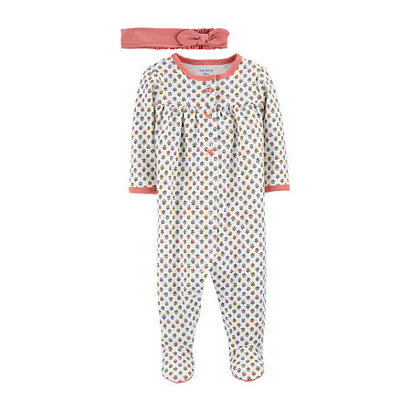 Carter's Little Baby Basics Baby Girls 2-pc. Sleep and Play, 3 Months , Pink