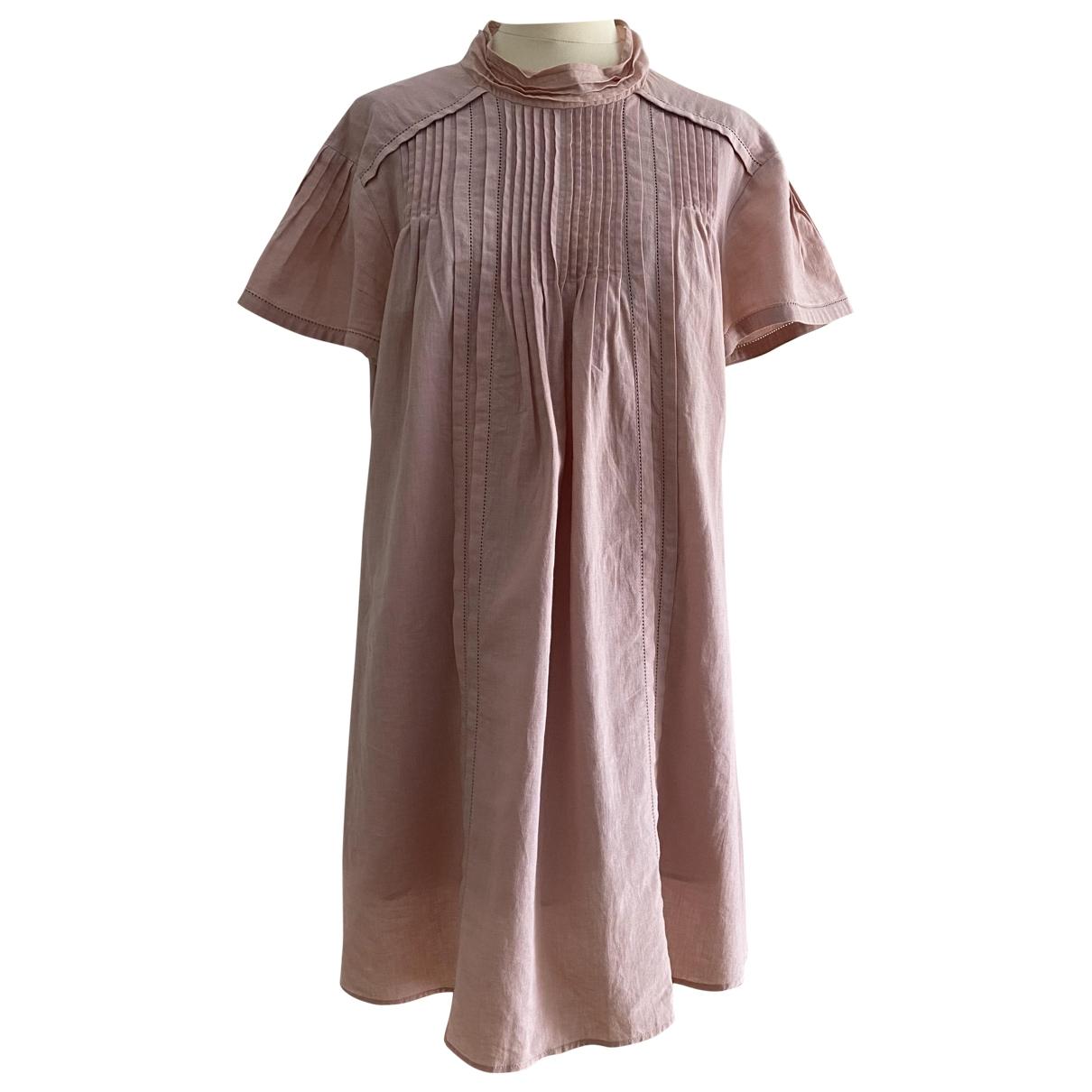 Burberry - Robe   pour femme en lin