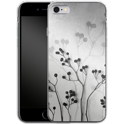 Apple iPhone 6 Silikon Handyhuelle - Abstract Flowers 5 von Mareike Bohmer