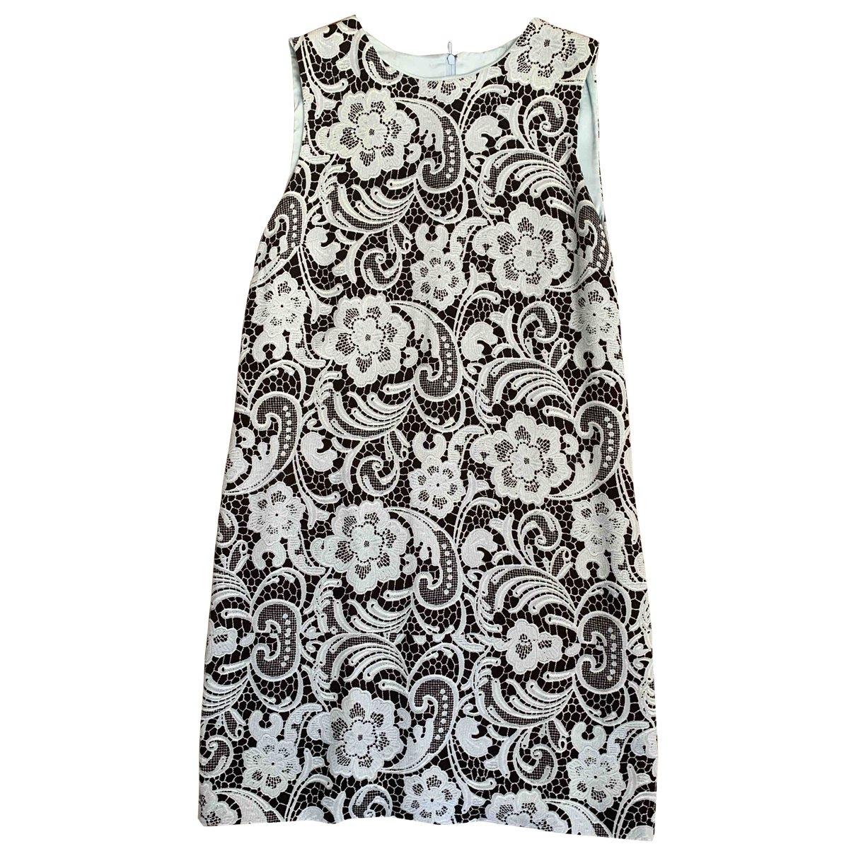 Dolce & Gabbana \N Kleid in  Blau Baumwolle
