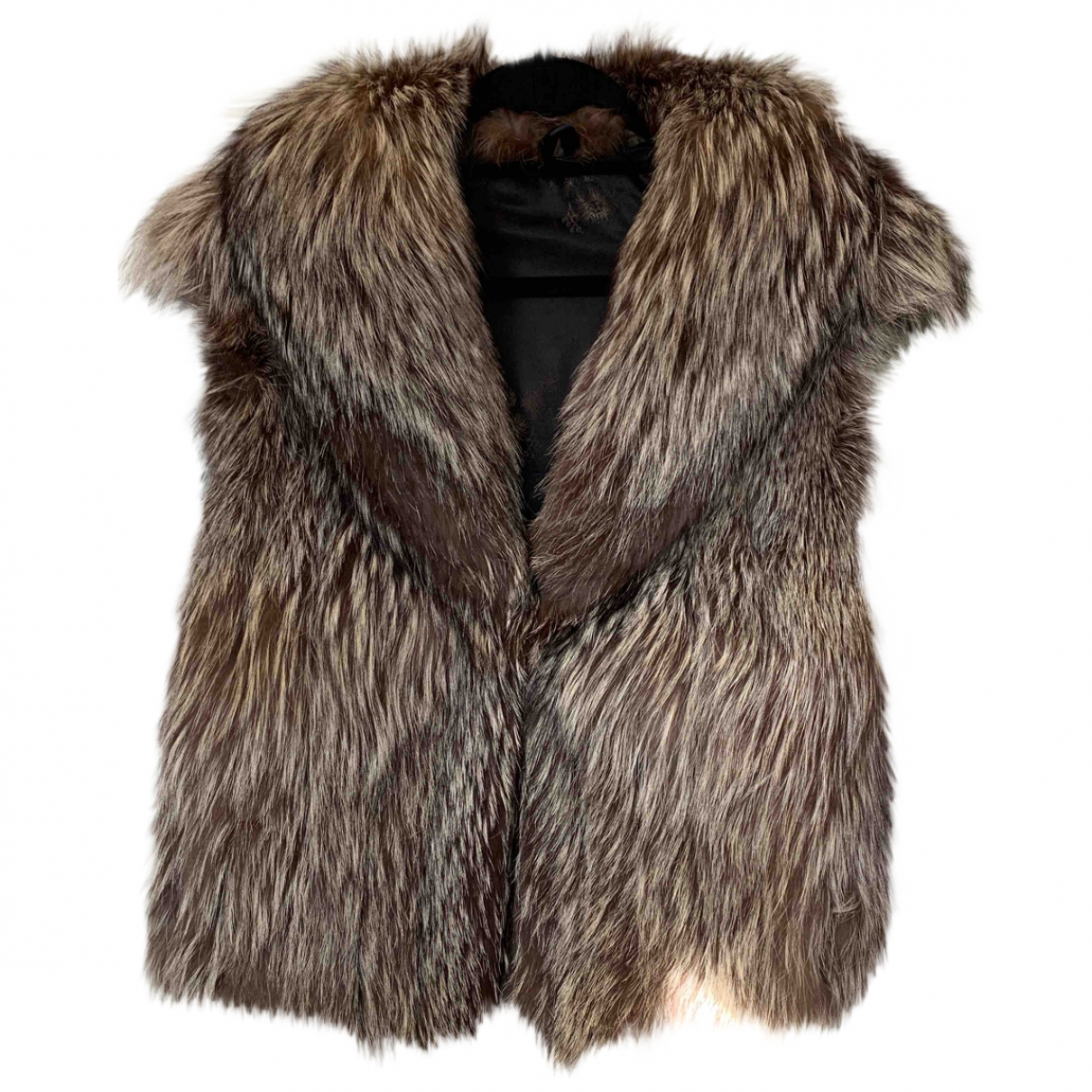 Non Signé / Unsigned \N Brown Fox jacket for Women 10 UK