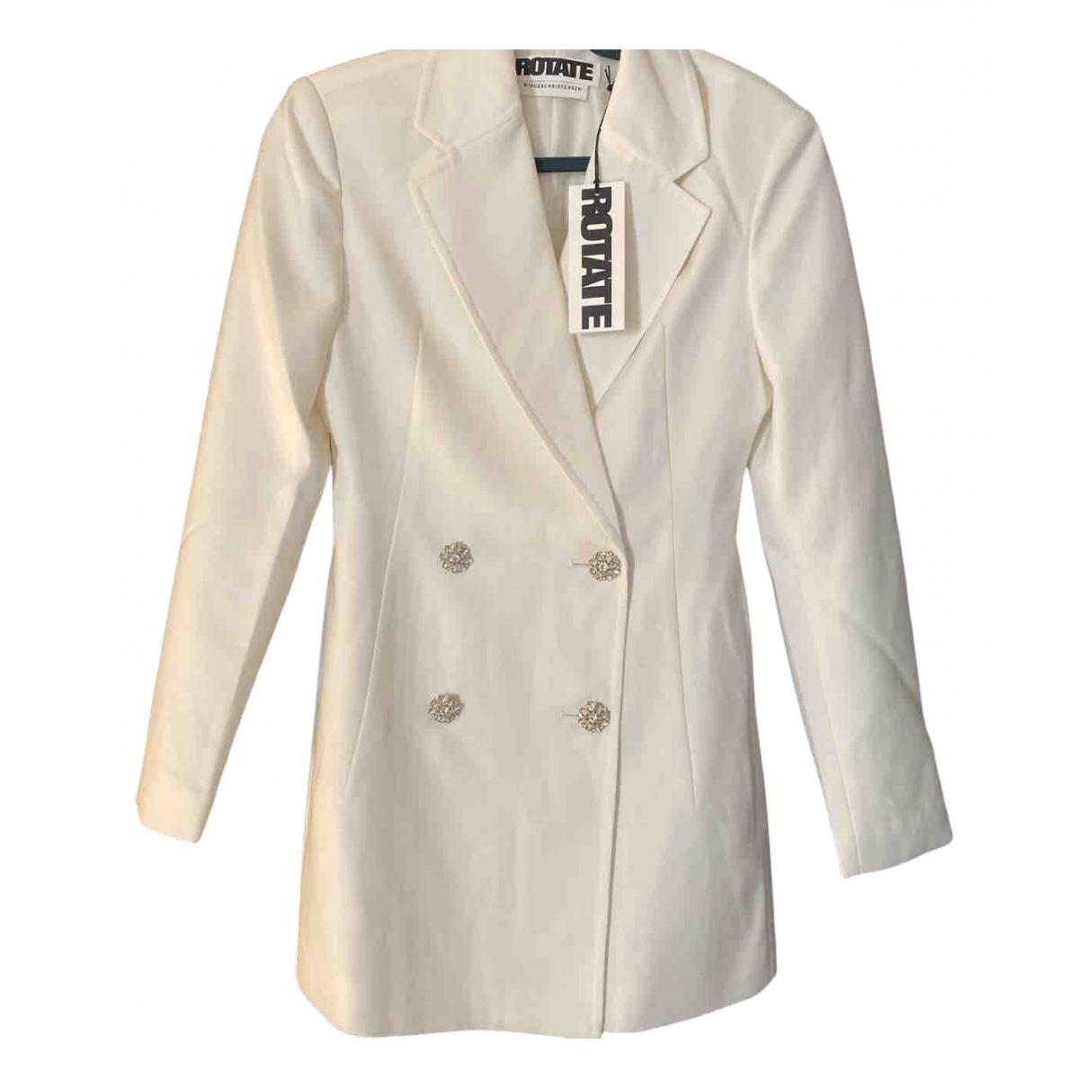 Rotate \N Kleid in  Weiss Baumwolle