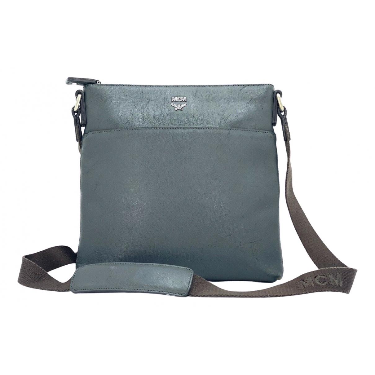 Mcm \N Handtasche in  Grau Leder