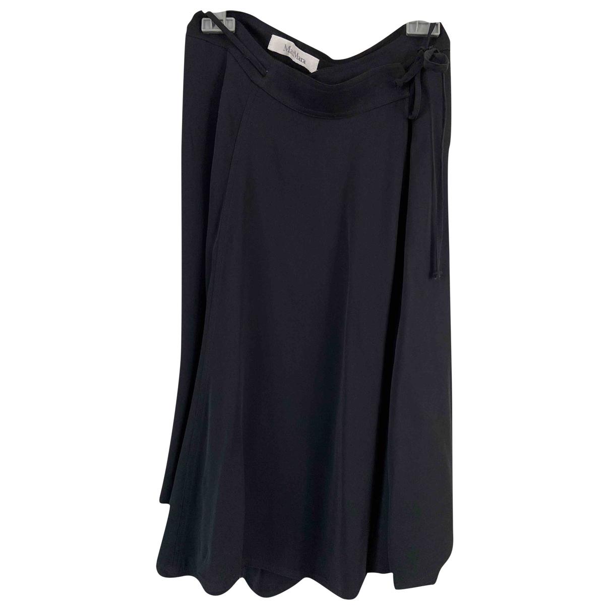 Max Mara \N Black skirt for Women 40 FR