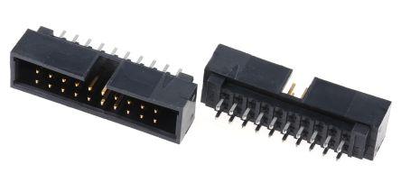Molex , C-Grid, 70246, 20 Way, 2 Row, Straight PCB Header (5)