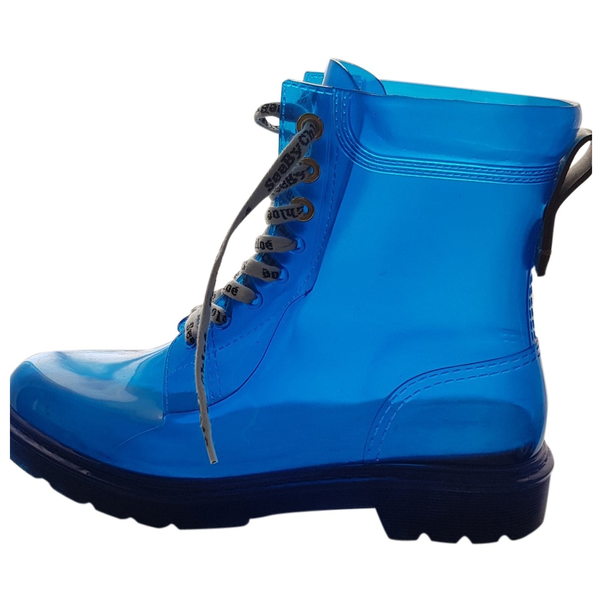 See By Chloe - Boots   pour femme - bleu