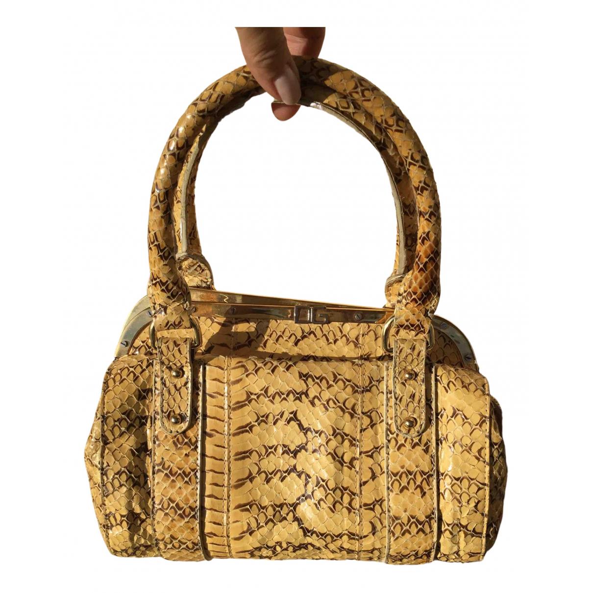 Dolce & Gabbana \N Handtasche in Python