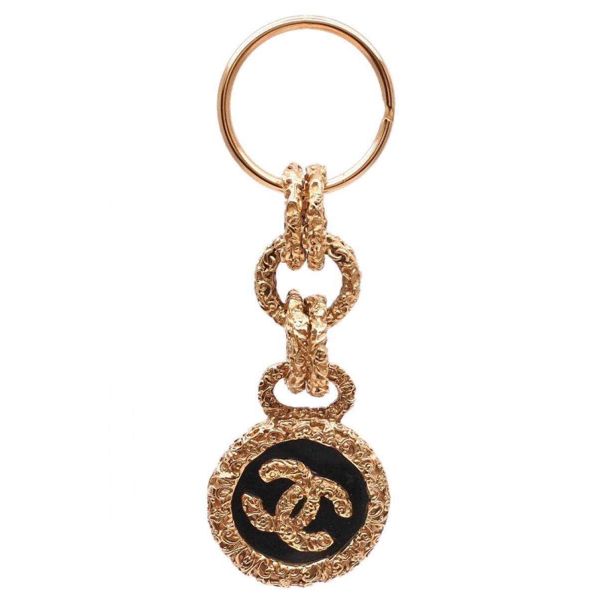 Chanel CC Taschenschmuck in  Gold Vergoldet