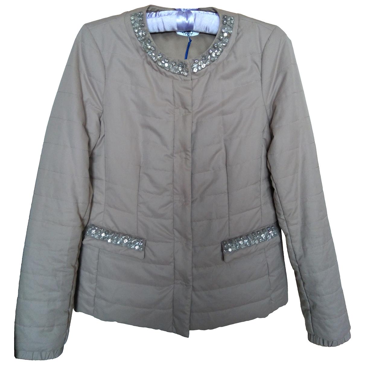 Liu.jo \N Beige jacket for Women 42 IT