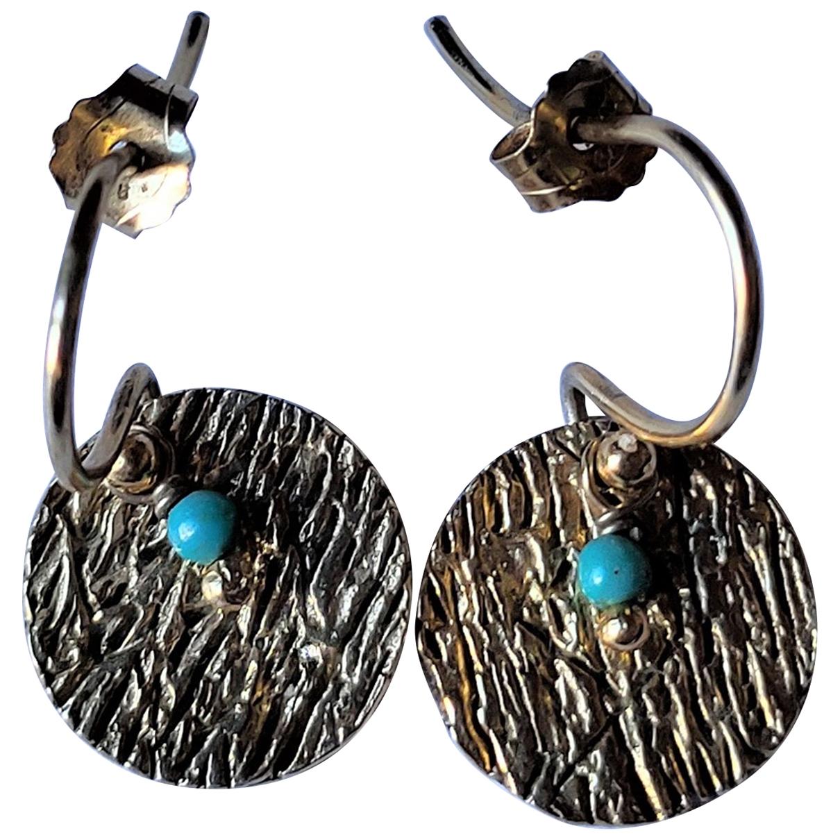 Monsieur Paris \N Gold Gold plated Earrings for Women \N