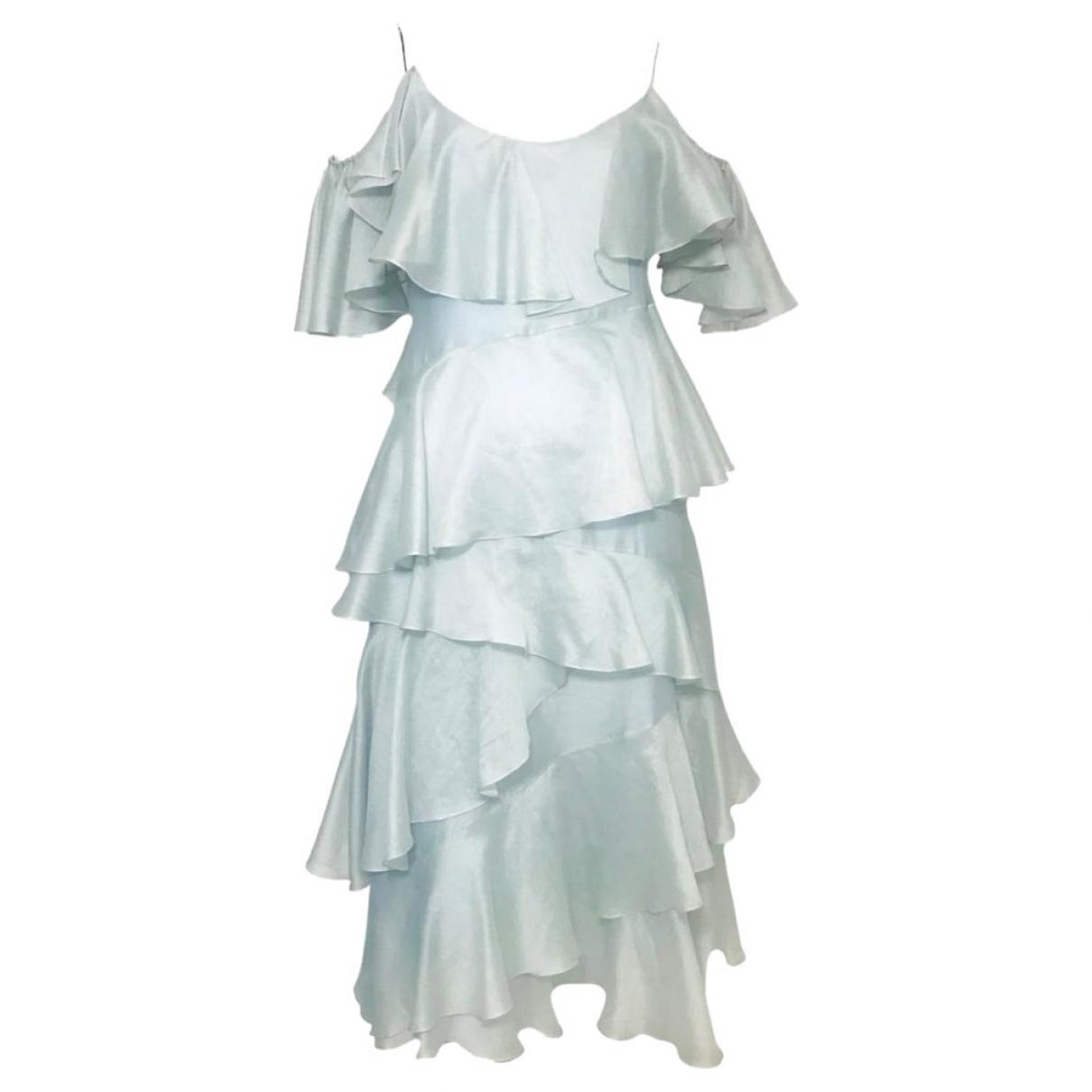 Anna October \N Green Silk dress for Women S International