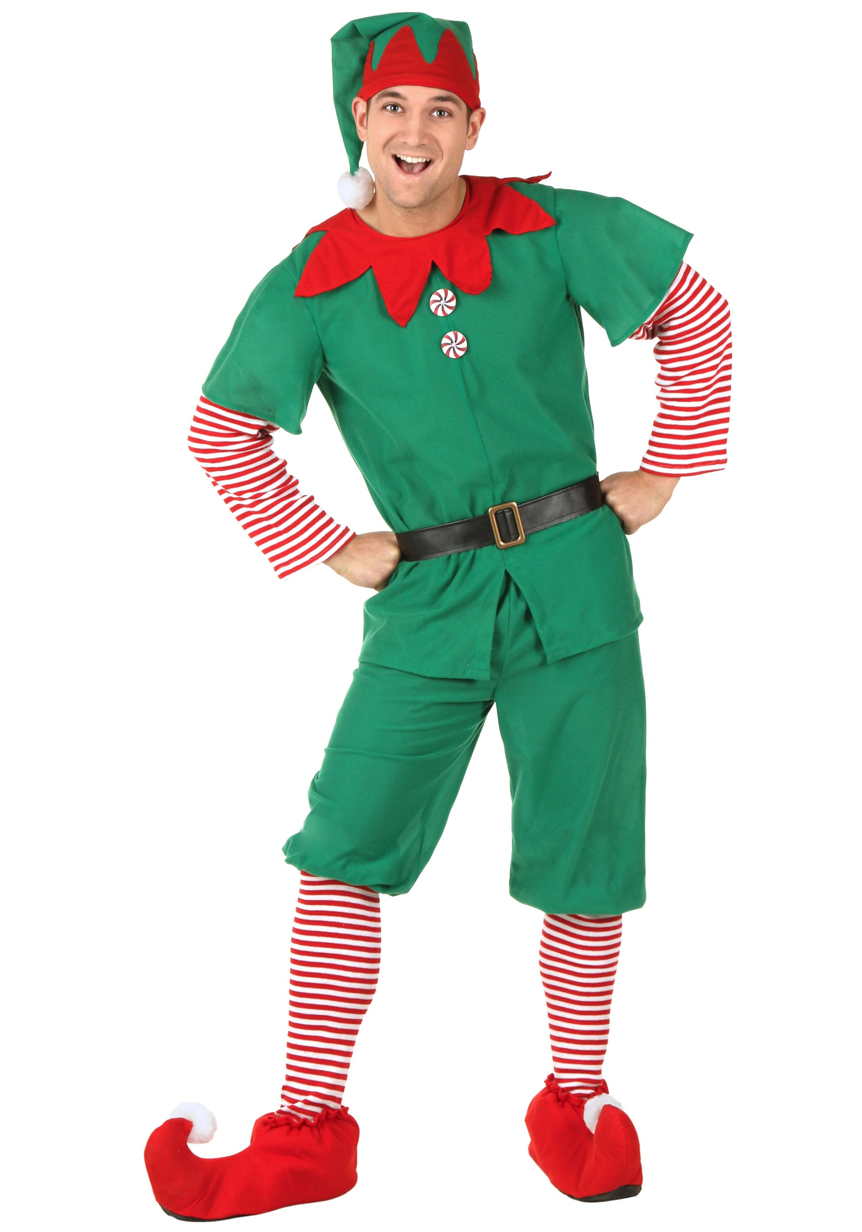 Holiday Elf Costume for Adults