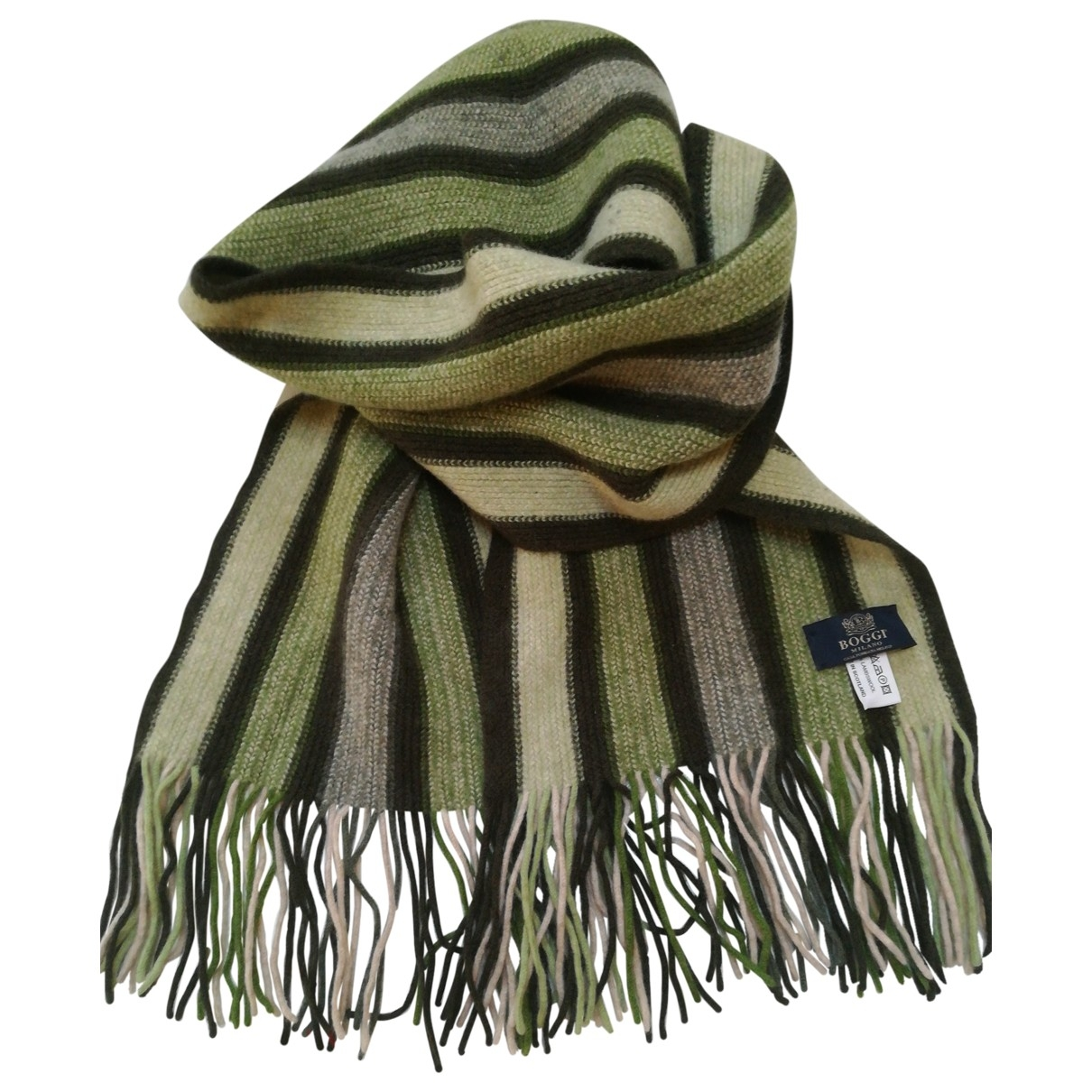 Pañuelo / bufanda de Lana Boggi