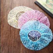 Gorro de ducha de color al azar 3 piezas