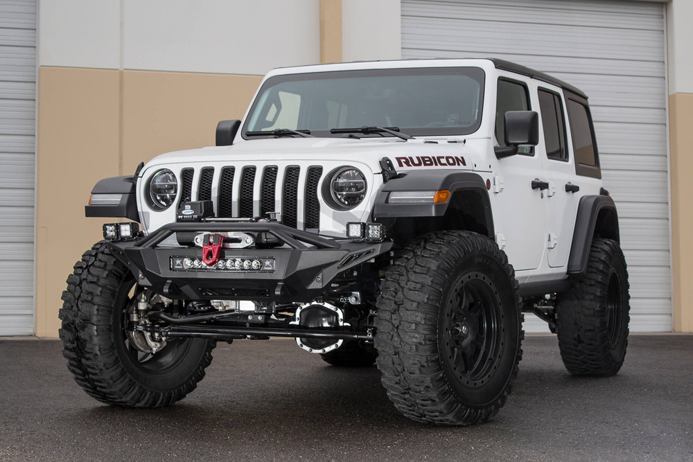 Addictive Desert Designs F961232080103 Stealth Fighter Front Bumper Jeep Wrangler JL 2018+