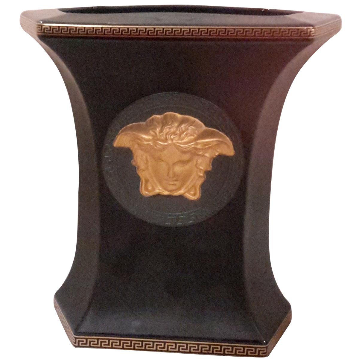 Gianni Versace - Objets & Deco   pour lifestyle en porcelaine - noir