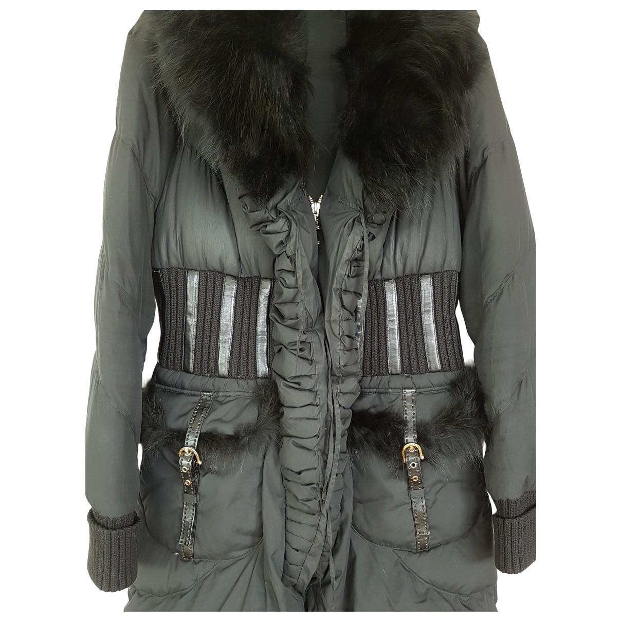 Just Cavalli \N Black coat for Women 42 IT