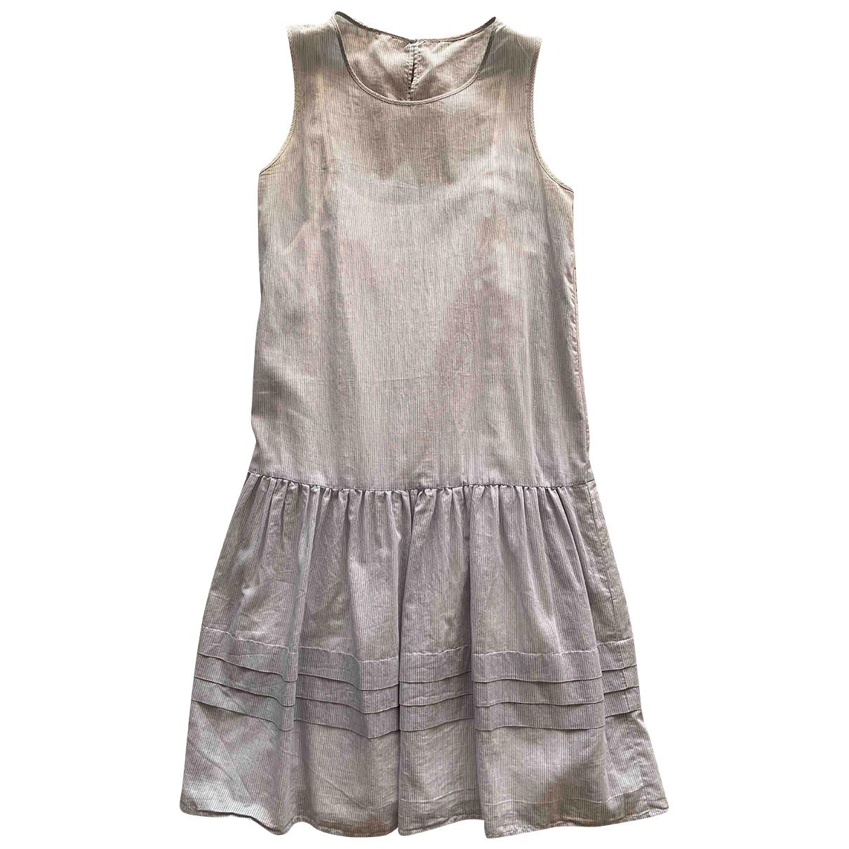 Max Mara \N Kleid in  Blau Baumwolle