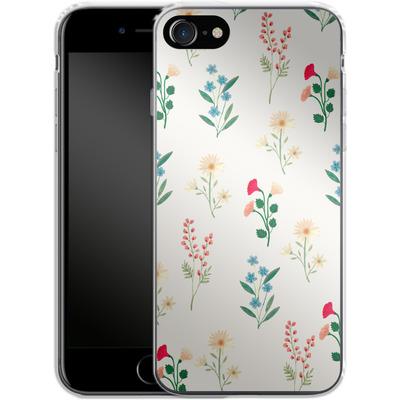 Apple iPhone 8 Silikon Handyhuelle - Leafy Green von Iisa Monttinen